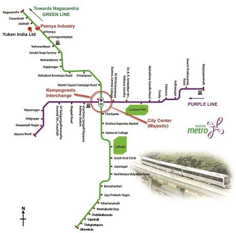 Peenya Map